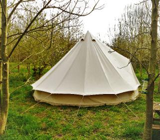 Glamping holidays in Somerset at Woodland Escape