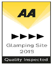 AA 4 star glamping site