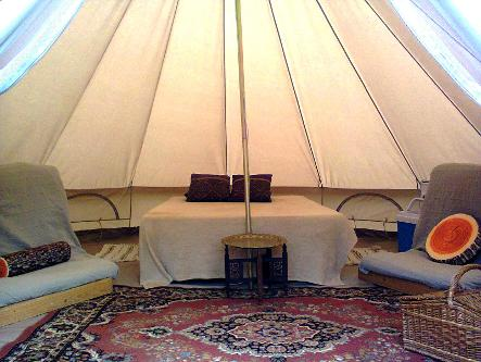 Glamping in Somerset for groups including hen & stag parties at Woodland Escape